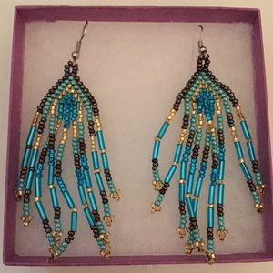 Jewelry - Beaded Chandelier earrings